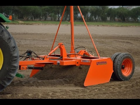 Laser Guided Land Leveler - UNIVERSAL