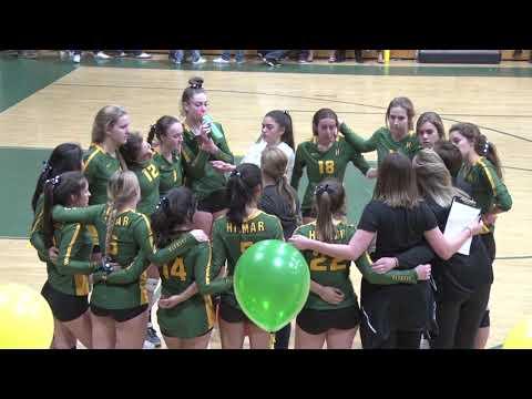 2018 Hilmar Girls Volleyball vs Shasta Set 3
