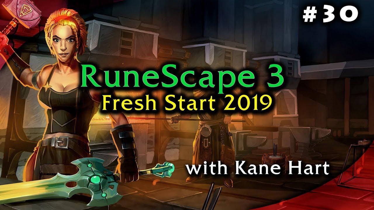 Runescape 2019 Part30 Level 90 Attack Bandos Armor New Gear
