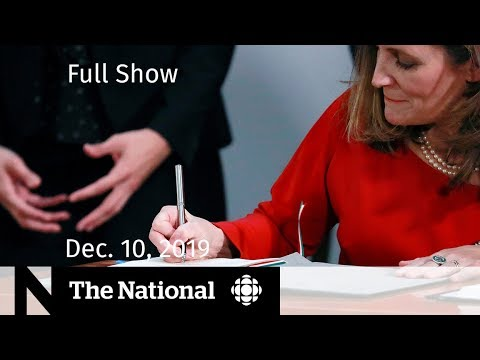 The National For Tuesday, Dec. 10 — New NAFTA Signed; Kenney In Ottawa; How Green Are Electric Cars