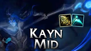 Shadow Assassin Krit Kayn Mid - League of Legends Commentary