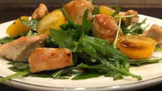 Простой салат с курицей - пошаговый рецепт