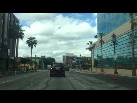 Downtown Los Angeles to Koreatown, on Wilshire Blvd