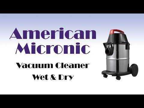 American Micronic Osmon Wet and Dry Vacuum Cleaner 1600 Watt