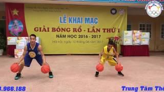 Học bóng rổ: Sự kết hợp hoàn hảo giữa 2 thầy trò Thể Thao Tuổi Trẻ