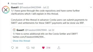 My Thoughts On People Saying Swift Will Use XRP And Code Showing Swift Will Use XRP?