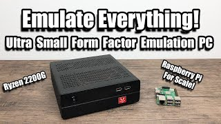 Ultra Small Form Factor Emulation PC Build - Emulate Everything!