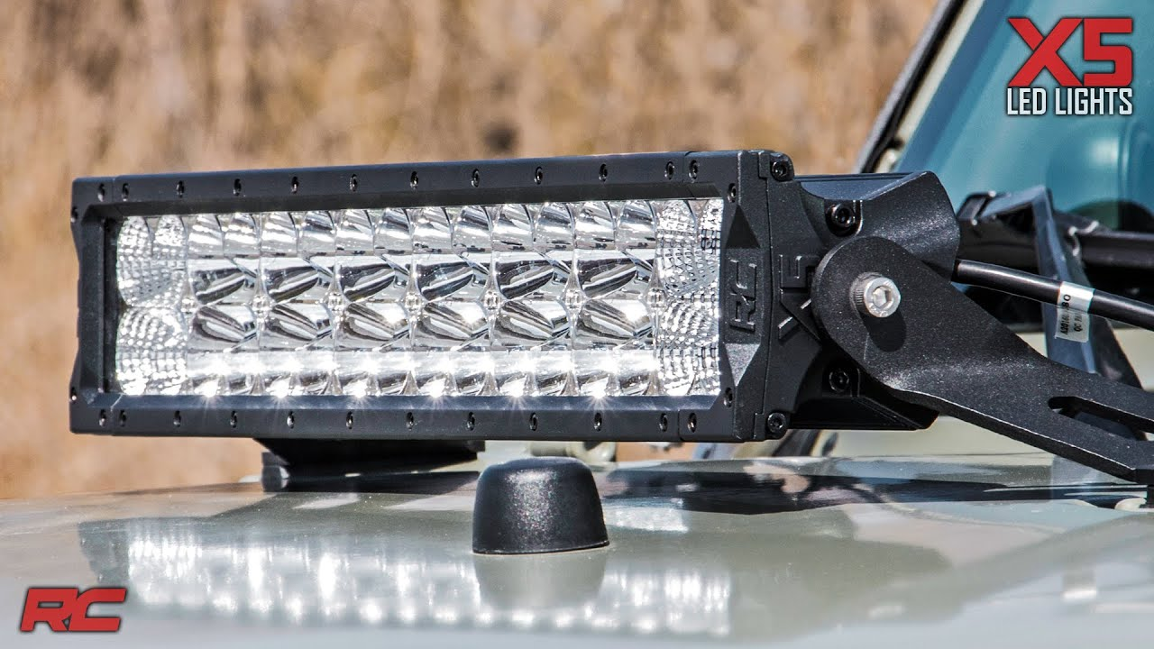 20 inch x5 series led light bar by rough country youtube aloadofball Gallery