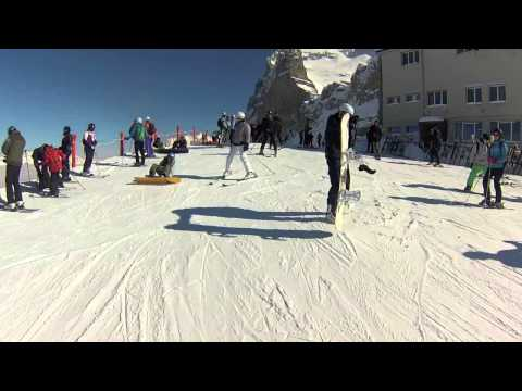 Wipe Out in the Swiss Alps