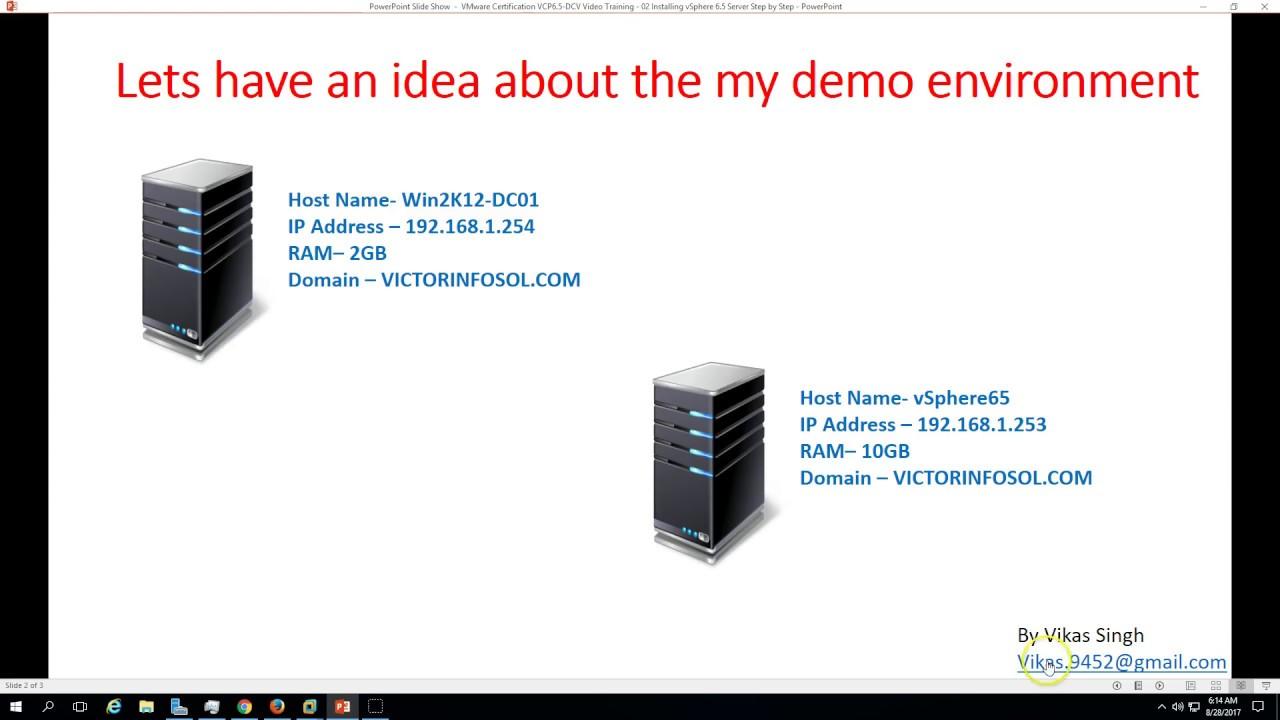 Vmware certification vcp 65 02 installing vsphere 6 5 server vmware certification vcp 65 02 installing vsphere 6 5 server step by step xflitez Images