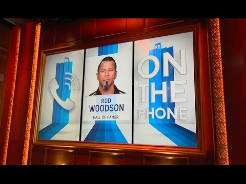 Hall of Famer Rod Woodson on His College Recruitment & More - 5/6/16