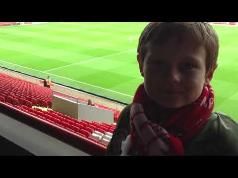 Day out at Anfield
