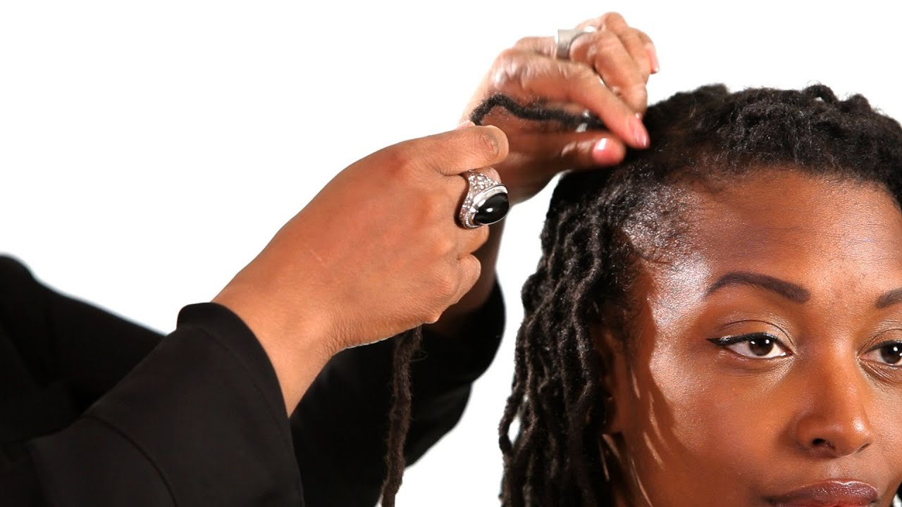 How To Use Rubber Bands On Dreads Get Dreads Youtube
