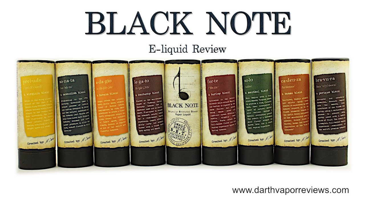 black note e liquid the notebook review