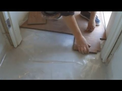 Laminate Floor Around The Door Frame