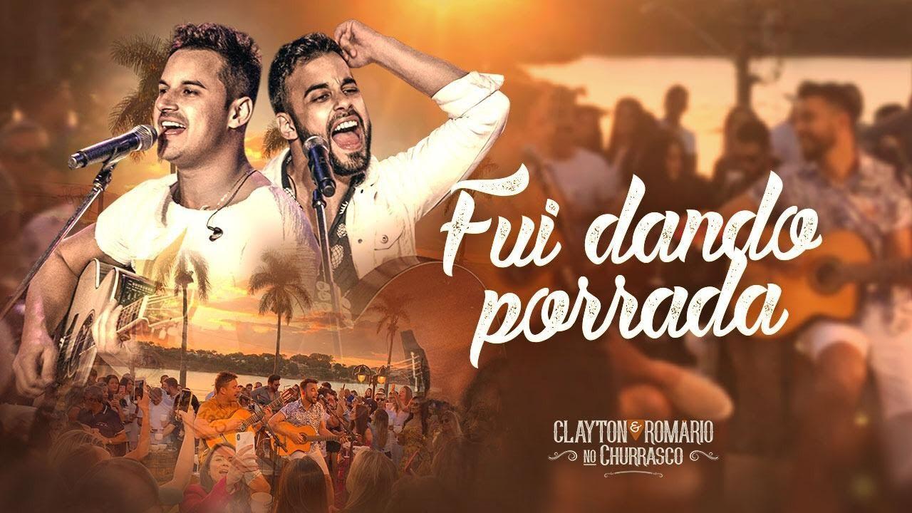 Download Clayton e Romário - Fui Dando Porrada - DVD no Churrasco