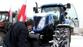 Protest rolników w Szczecinku