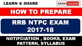 RRB NTPC Exam 2017 : Notification, Eligibility, Pattern and Syllabus 2017 Video