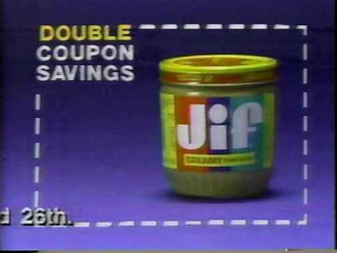 1988 - Double Coupons at the Grocery Store