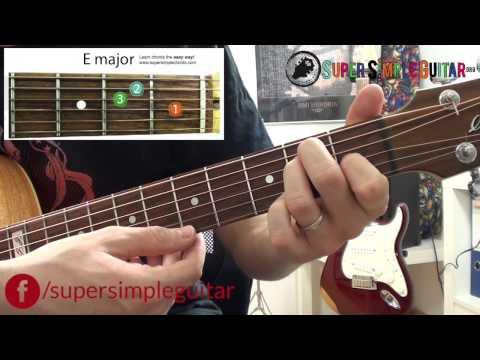 """Nauci svirat gitaru - Gitara za pocetnike - lekcija 2 od 4 """" Prvi Akordi"""""""