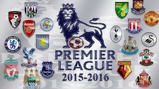 Barclays Premier League 2015/16 intro HD