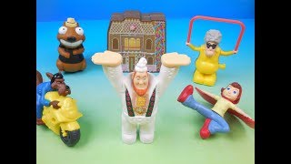 2010 HOODWINKED TOO! HOOD Vs EVIL SET OF 6 BURGER KING KIDS MEAL MOVIE TOYS VIDEO REVIEW