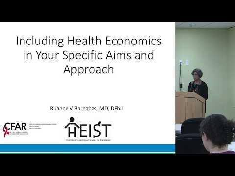 HEIST Workshop 2: Grant Writing (Health Economic Impact Studies for Translation)