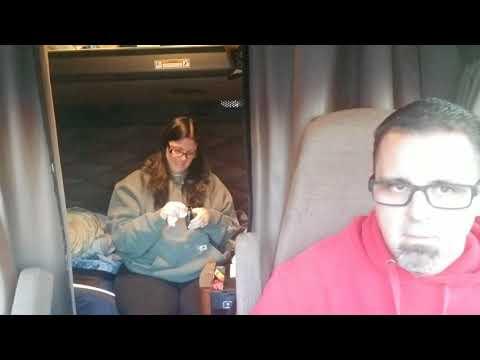 Road to MATS -The Saga continues (Trucking with Selena vlog #47)