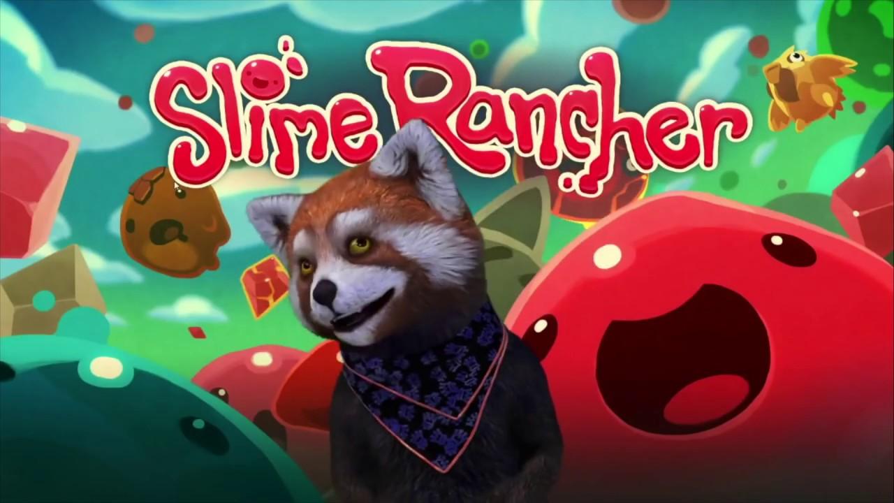 Рокки играет в Slime Rancher
