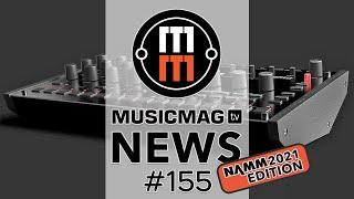 News #155 (новинки NAMM 2021): KORG Drumlogue, Make Noise Strega, Propellerhead Reason+ и др.