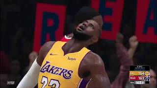 Dwight Howard's Wizards VS. Lebron's Lakers NBA 2K18