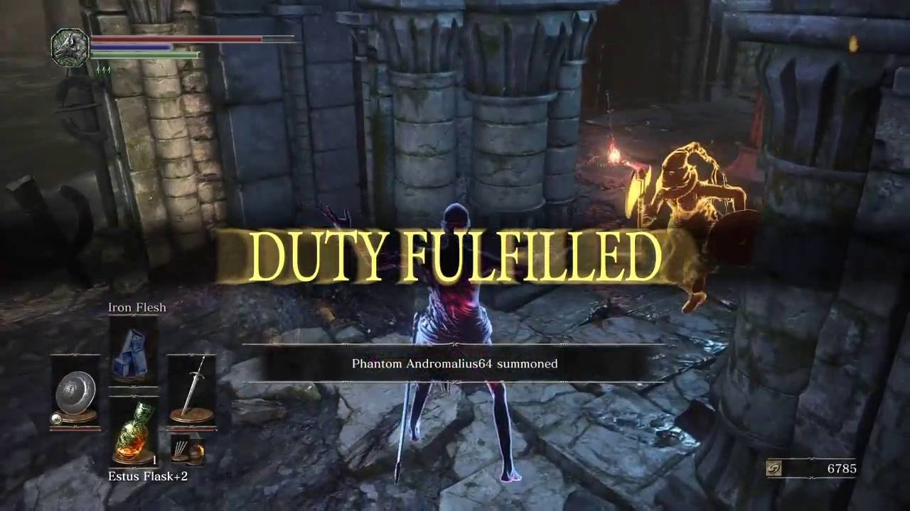 Dark Souls 3 DLC: The Most Messed Up Place To ... - YouTube