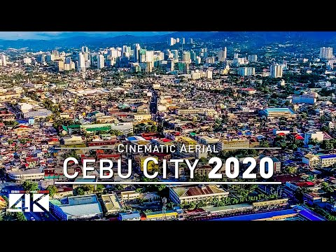 【4K】Drone Footage | Cebu City - Philippines 2019 ..:: Cinematic Aerial Film