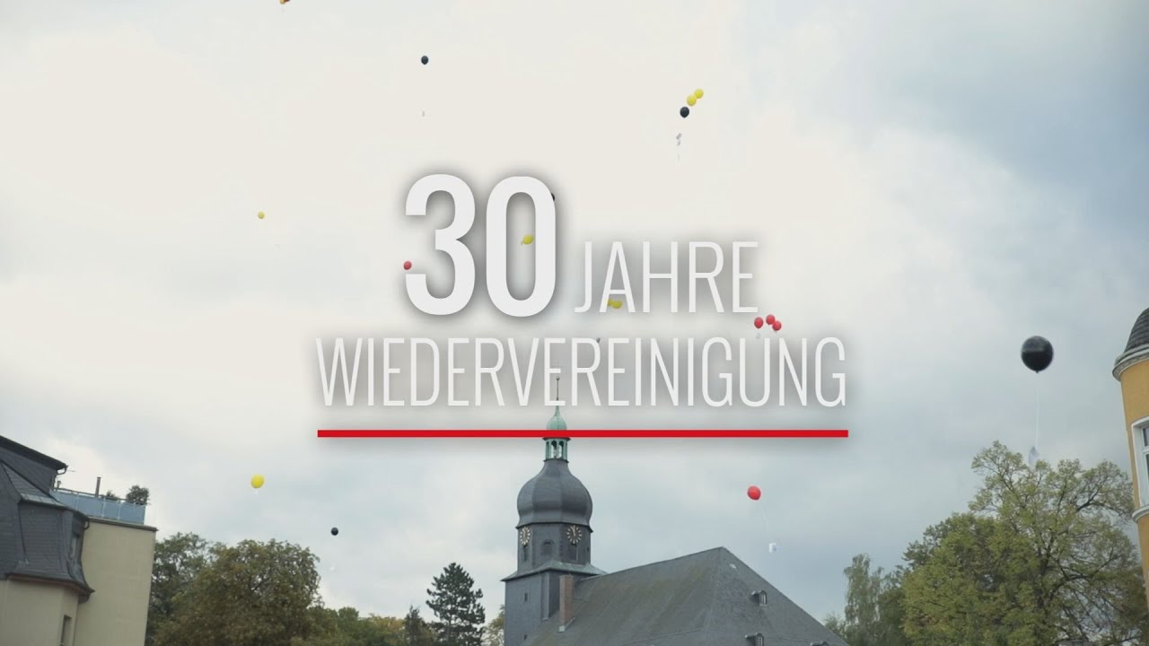Rodewisch feiert 30 Jahre Wiedervereinigung