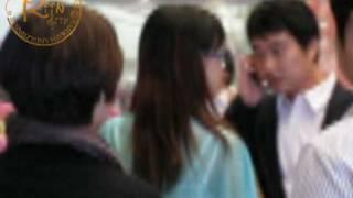 2009.04.19 Beijing Airport Arrival - Zhang Li Yin Fancam