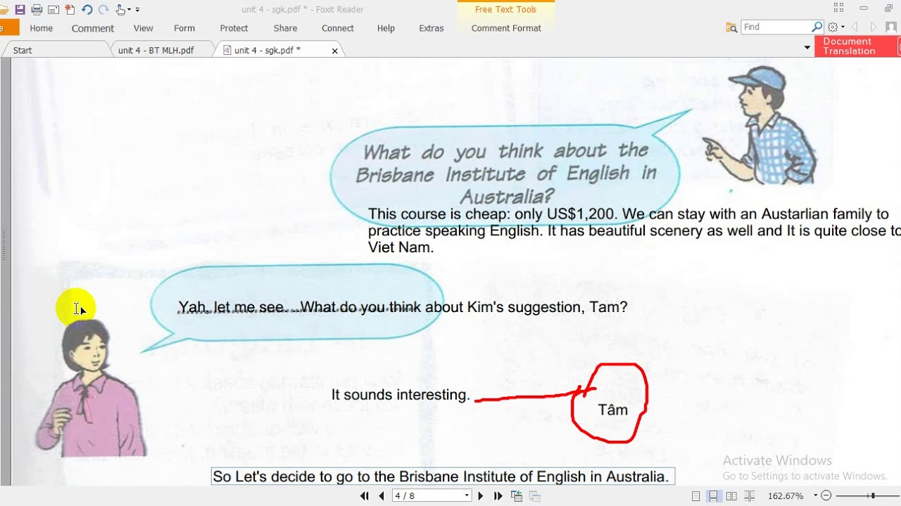 Unit 4 English 9 Learning A Foreign Language Sgk