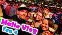 Mallorca Party Vlog 4K - Tag 4 │Megapark, Bierkönig Opening & Gameblamer │