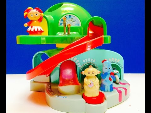 Iggle Piggle, Makka Pakka and Upsy Daisy Visit Teletubbies Tubbytronic Superdome House Toy