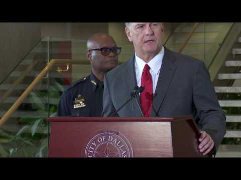 Dallas Police Shooting Press Conference  7:30 Am 7/8/16 UNEDITED