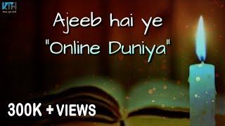 Very Sad Heart Touching Whatsapp Status Video   2 Line Status - Kash Tum Hoti