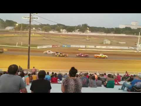 Enid speedway pure heat. - dirt track racing video image