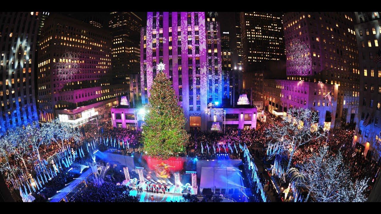 christmas castle light show rockefeller center new york city - Rockefeller Christmas Show