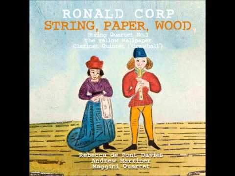Ronald Corp - Allegretto grazioso from 'Crawhall' Clarinet Quintet