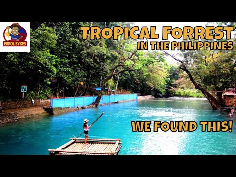 COLD SPRING in TROPCIAL FORREST - Pandan, The Philippines [2018]