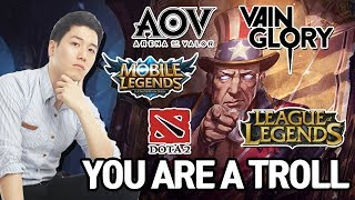 Four Things, Help To Be a High Rank and Best Player in MOBA GAMES