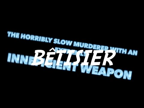 BLOOPERS The horribly slow murderer with the extremely inefficient weapon low cost remake