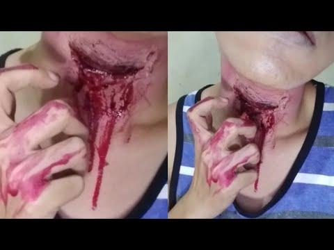 Halloween Makeup Tutorial | Slice | Bloody Neck