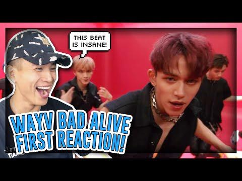 FIRST TIME REACTING TO WayV 威神V 'Bad Alive (English Ver.)' MV![REACTION]