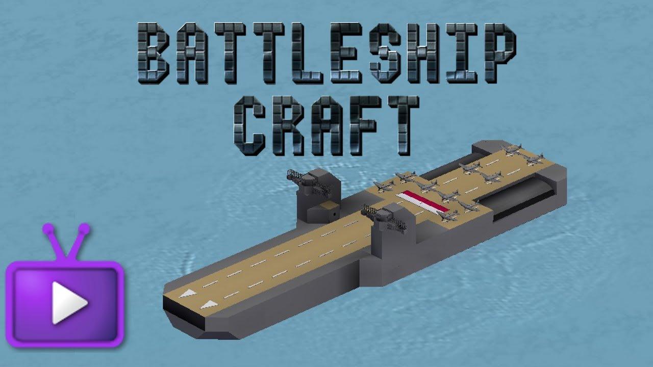 battleship craft how to make a aircraft carrier