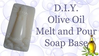 Olive Oil Melt And Pour Soap Base From Scratch With Lye